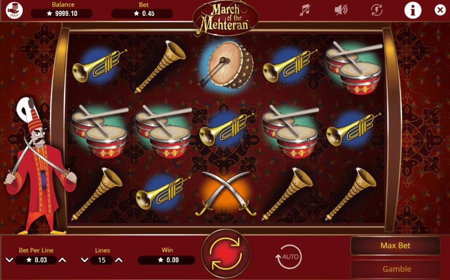 March of the MehteranGiochi Slot Machine Online Gratis