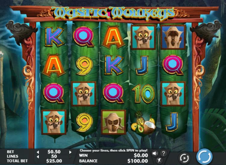 Slot Machine Mystic Monkeys Gratis Online