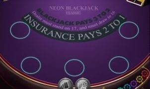 Neon Blackjack Classic Slot Machine Online Gratis