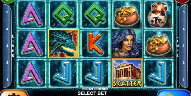 Ocean Legends Giochi Slot Machine Online Gratis