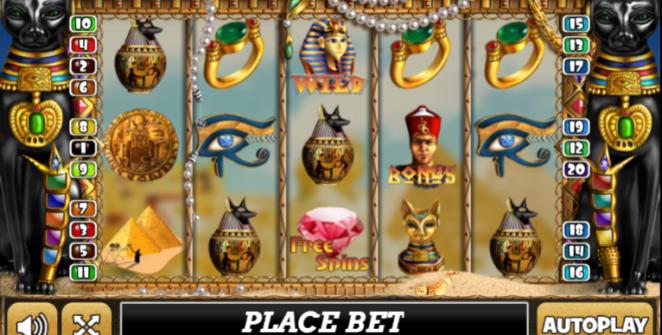 Slot Machine Pharaohs Treasure Gratis Online