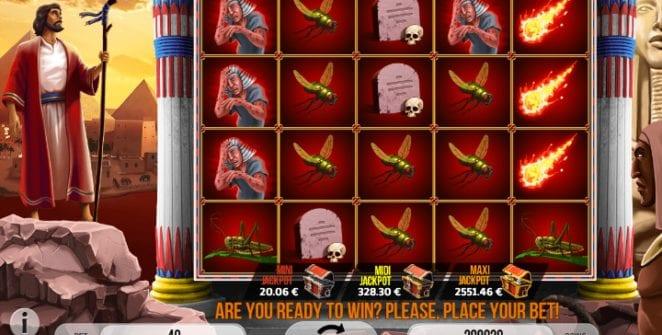 Slot Machine Plagues of Egypt Gratis Online