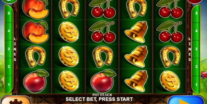 Giochi Slot Pot O Luck Online Gratis
