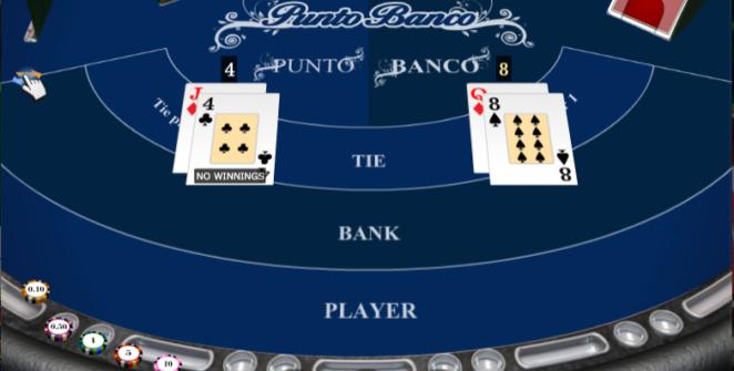 Slot MachinePunto Banco iSoftGratis Online