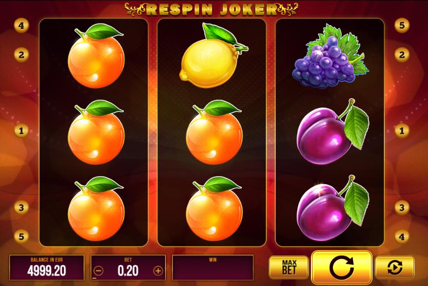 Respin Joker Slot Machine Online Gratis