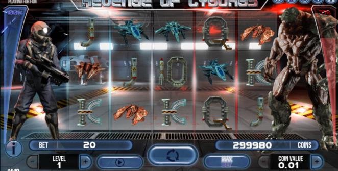 Revenge of Cyborgs Giochi Slot Machine Online Gratis