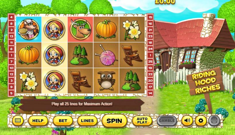 Slot MachineRiding Hood RichesGratis Online