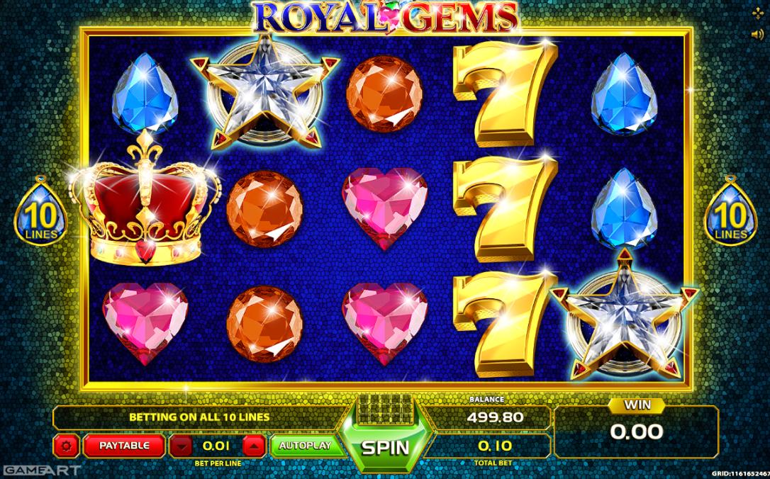 Royal Gems Slot Machine