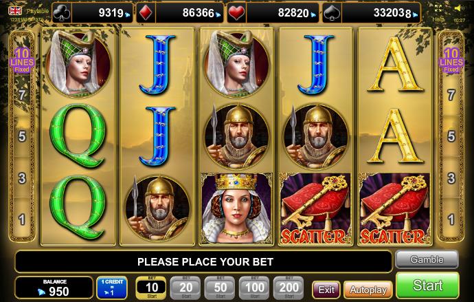 Royal Secrets EGTGiochi Slot Machine Online Gratis