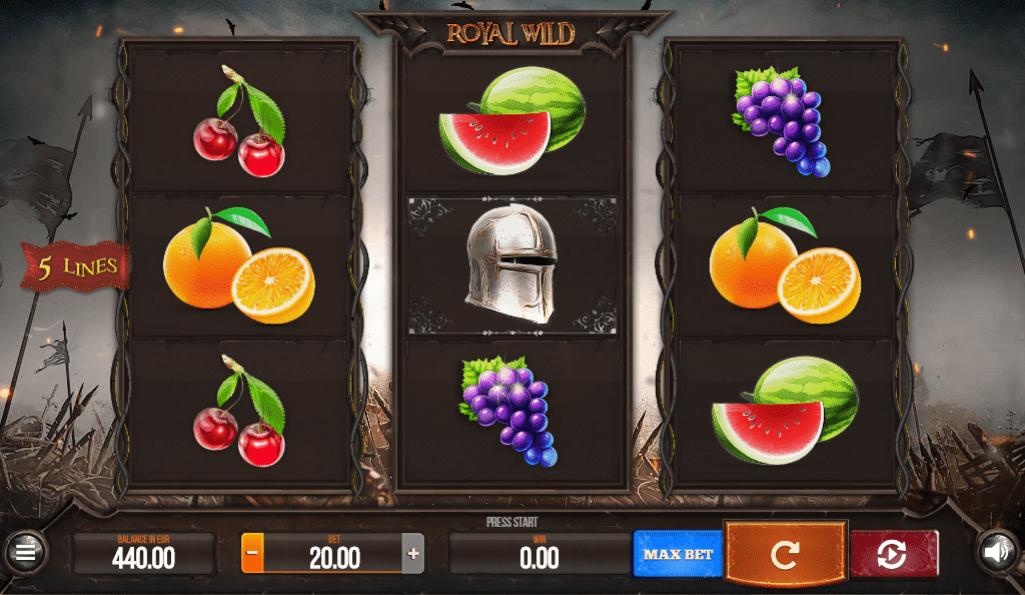 Slot Machine Royal Wild Gratis Online