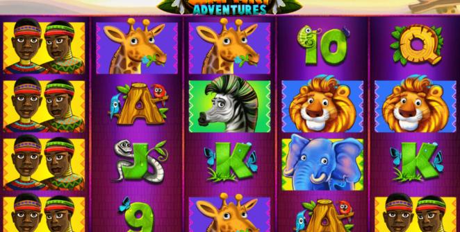Giochi SlotSafari AdventuresOnline Gratis