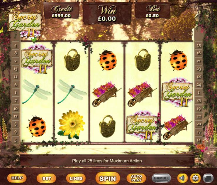 Secret Garden IIGiochi Slot Machine Online Gratis
