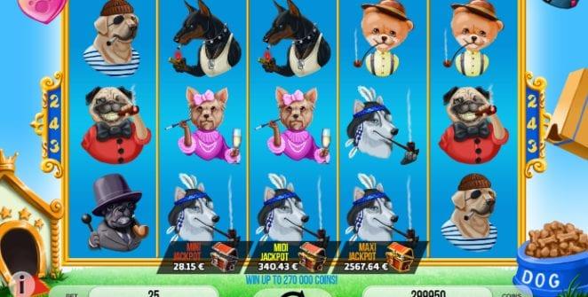 Smoking Dogs Slot Machine Online Gratis
