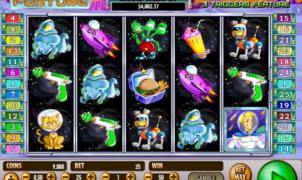 Space FortuneSlot Machine Online Gratis