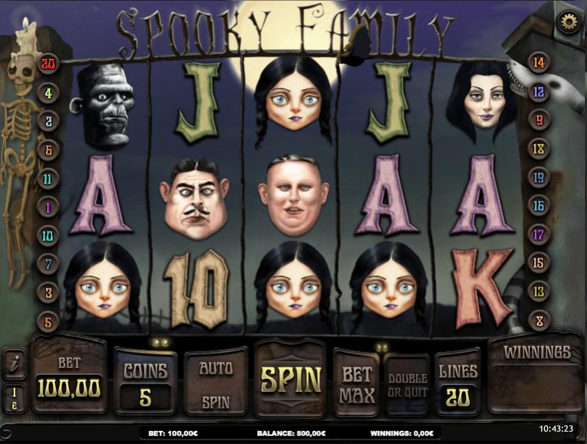 Slot MachineSpooky FamilyGratis Online