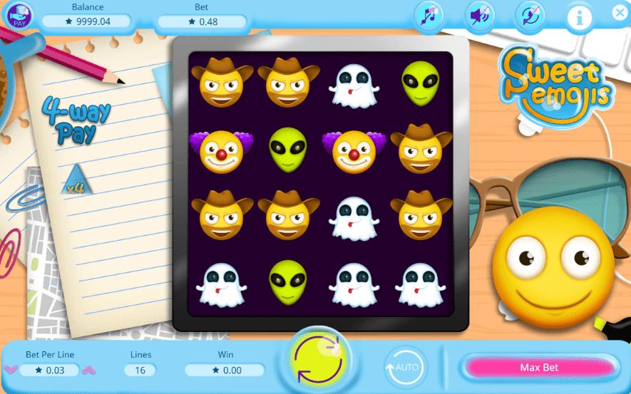 Slot MachineSweet EmojisGratis Online