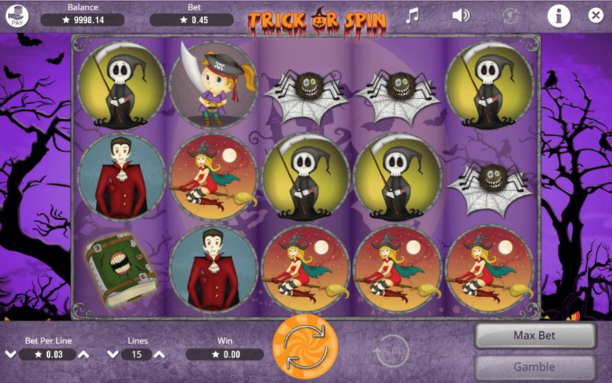 Slot MachineTrick or SpinGratis Online