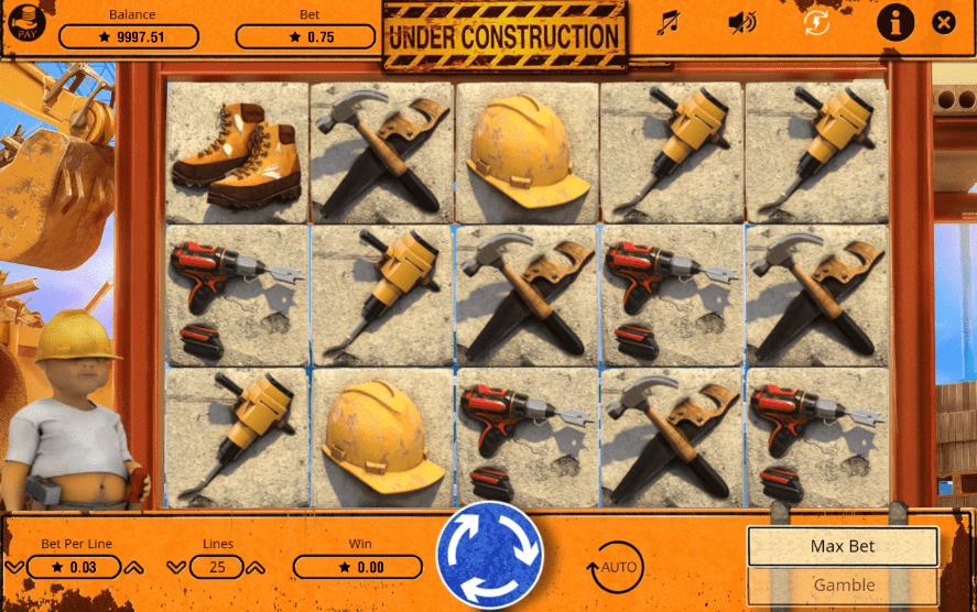 Giochi SlotUnder ConstructionOnline Gratis