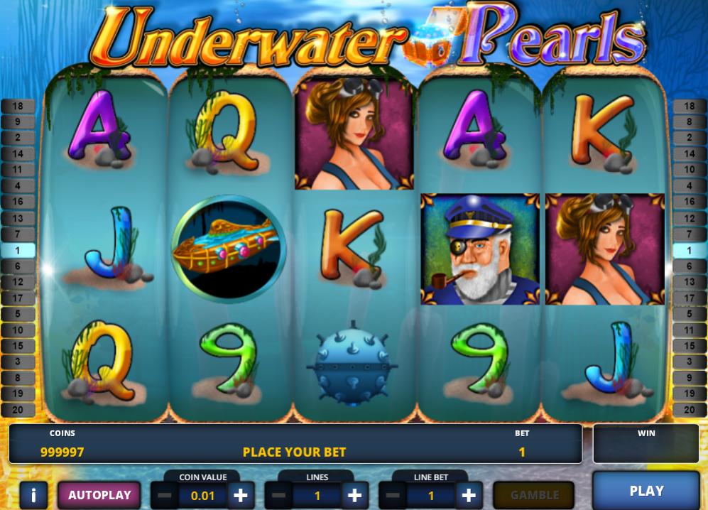 Giochi SlotUnderwater PearlsOnline Gratis