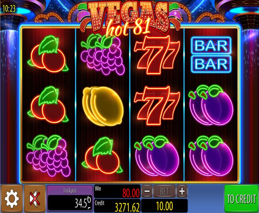 Hot 81 Slot Machine