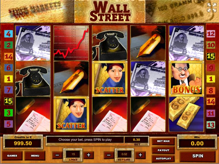 Giochi SlotWall Street THOnline Gratis
