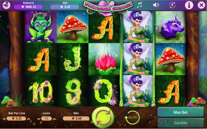 Wondrous GardenSlot Machine Online Gratis
