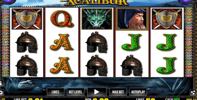 Xcalibur Giochi Slot Machine Online Gratis